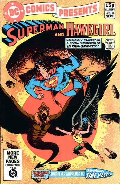 Cover for DC Comics Presents (DC, 1978 series) #37 [Direct]