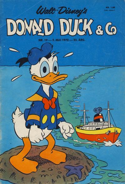 Cover for Donald Duck & Co (Hjemmet / Egmont, 1948 series) #19/1970