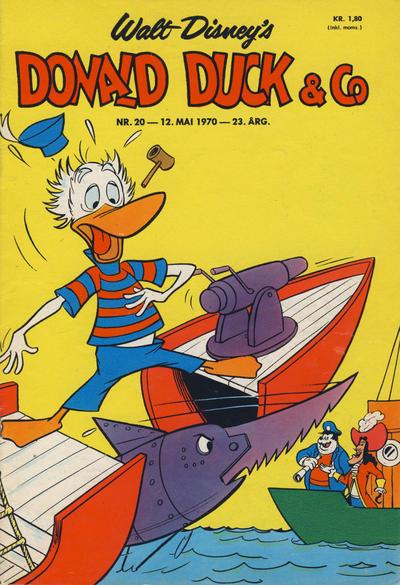 Cover for Donald Duck & Co (Hjemmet / Egmont, 1948 series) #20/1970