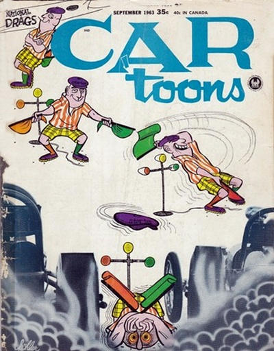Cover for CARtoons (Petersen Publishing, 1961 series) #13