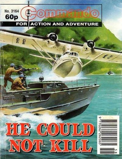 Cover for Commando (D.C. Thomson, 1961 series) #3164
