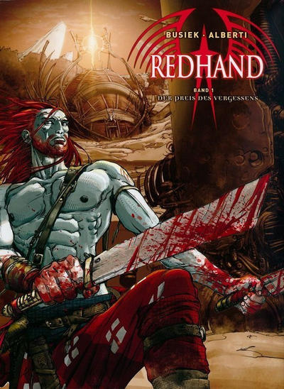 Cover for Redhand (Cross Cult, 2008 series) #1