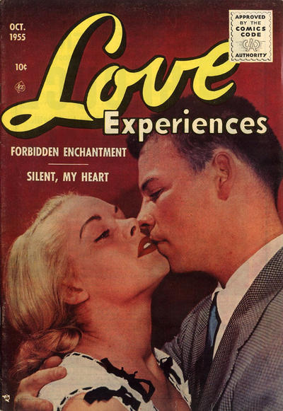 Cover for Love Experiences (Ace Magazines, 1951 series) #34