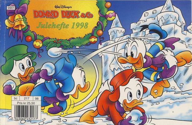 Cover for Donald Duck & Co julehefte (Hjemmet / Egmont, 1997 series) #1998