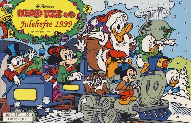 Cover for Donald Duck & Co julehefte (Hjemmet / Egmont, 1968 series) #1999