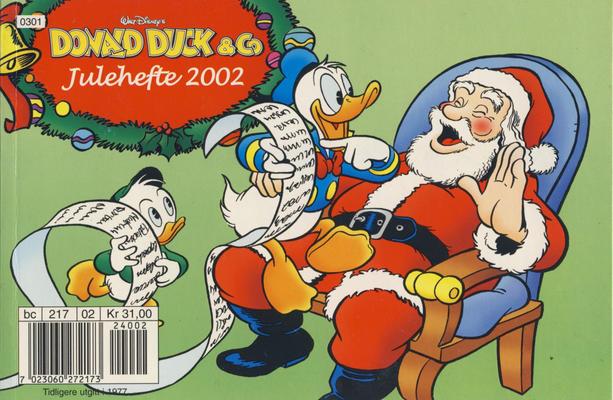Cover for Donald Duck & Co julehefte (Hjemmet / Egmont, 1968 series) #2002