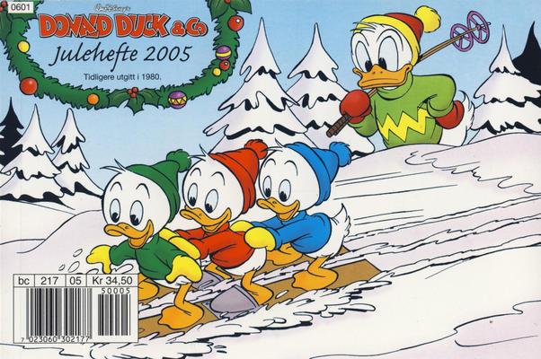 Cover for Donald Duck & Co julehefte (Hjemmet / Egmont, 1968 series) #2005