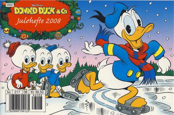 Cover for Donald Duck & Co julehefte (Hjemmet / Egmont, 1968 series) #2008