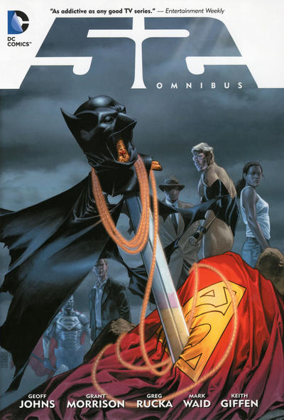 Cover for The 52 Omnibus (DC, 2012 series)