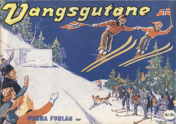 Cover for Vangsgutane (Fonna Forlag, 1941 series) #1987