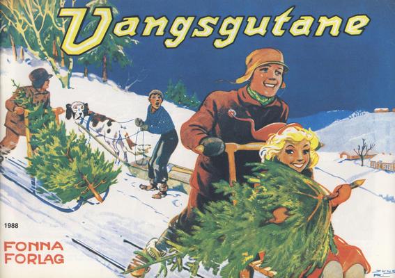 Cover for Vangsgutane (Fonna Forlag, 1941 series) #1988