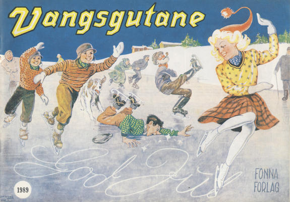 Cover for Vangsgutane (Fonna Forlag, 1941 series) #1989