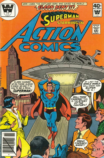 Cover for Action Comics (DC, 1938 series) #501 [Regular Edition]