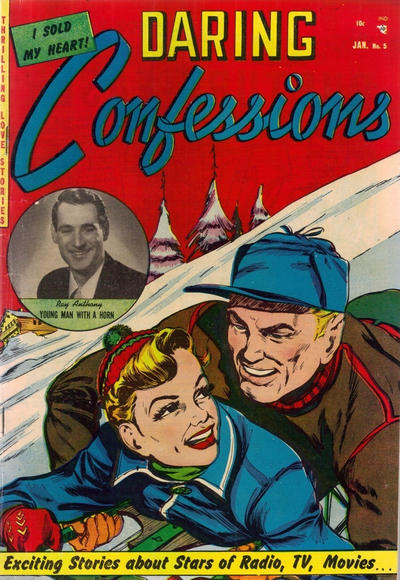 Cover for Daring Confessions (Youthful, 1952 series) #5