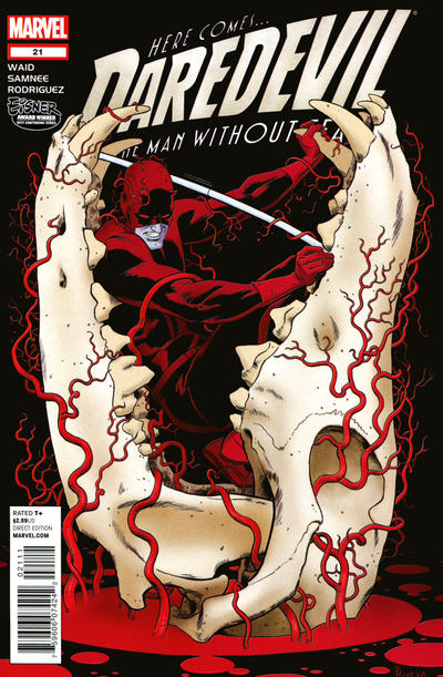 Cover for Daredevil (Marvel, 2011 series) #21