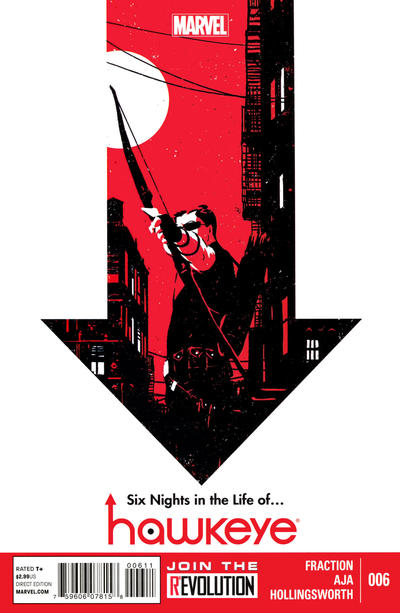 Cover for Hawkeye (Marvel, 2012 series) #6 [2nd Printing]