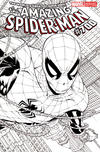 Cover for The Amazing Spider-Man (Marvel, 1999 series) #700 [Joe Quesada Wraparound Sketch Variant]