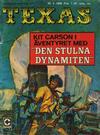 Cover for Texas (Centerförlaget, 1964 series) #3/1968