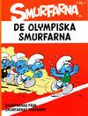 Cover for Smurfarna (Bokförlaget Semic, 2011 series) #3 - De olympiska Smurfarna