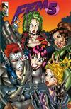 Cover for Fem 5 (Entity-Parody, 1996 series) #1 [Ale Garza & Cabin Boy Cover]