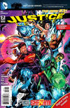 Cover for Justice League (DC, 2011 series) #7 [Combo-Pack]