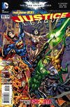 Cover Thumbnail for Justice League (2011 series) #11 [Bryan Hitch Cover]