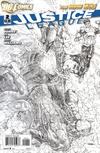 Cover for Justice League (DC, 2011 series) #2 [Jim Lee Sketch Cover]