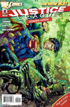 Cover for Justice League (DC, 2011 series) #2 [Jim Lee / Scott Williams Cover Combo-Pack]