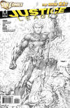 Cover Thumbnail for Justice League (2011 series) #4 [Sketch Variant Cover by Jim Lee]