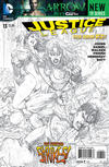 Cover for Justice League (DC, 2011 series) #13 [Sketch Variant Cover by Tony Daniel]