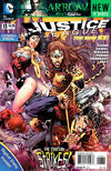 Cover for Justice League (DC, 2011 series) #13 [Combo-Pack Edition Cover by Tony Daniel]