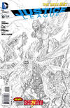 Cover Thumbnail for Justice League (2011 series) #10 [Sketch Variant Cover by Jim Lee]
