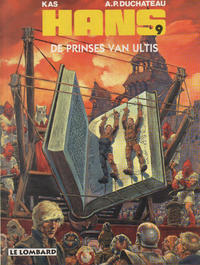 Cover for Hans (Le Lombard, 1983 series) #9 - De prinses van Ultis