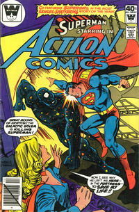 Cover Thumbnail for Action Comics (DC, 1938 series) #502 [Whitman]