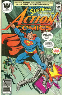 Cover Thumbnail for Action Comics (DC, 1938 series) #504 [Whitman]