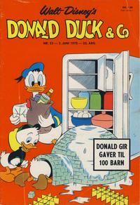 Cover Thumbnail for Donald Duck & Co (Hjemmet / Egmont, 1948 series) #23/1970