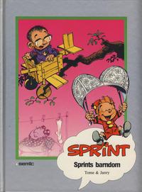 Cover Thumbnail for Sprint [Seriesamlerklubben] (Semic, 1986 series) #[38] - Sprints barndom