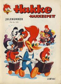 Cover Thumbnail for Hakke Hakkespett og andre skøyere [Hakke Hakkespett julenummer] (Serieforlaget / Se-Bladene / Stabenfeldt, 1961 series) #[1961]