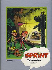 Cover Thumbnail for Sprint [Seriesamlerklubben] (Semic, 1986 series) #[29] - Tidsmaskinen