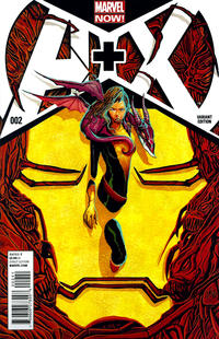 Cover Thumbnail for A+X (Marvel, 2012 series) #2 [Variant Cover by Mike Del Mundo]