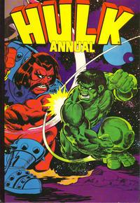 Cover for Hulk Annual (Marvel UK, 1981 ? series) #[1981]