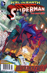 Cover Thumbnail for Superman (DC, 2011 series) #14 [Newsstand]