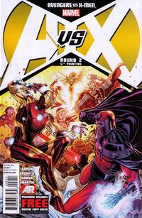 Cover Thumbnail for Avengers vs. X-Men (Marvel, 2012 series) #2 [4th Printing Variant]