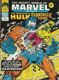 Cover Thumbnail for The Mighty World of Marvel (Marvel UK, 1972 series) #320