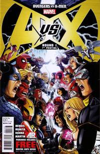 Cover Thumbnail for Avengers vs. X-Men (Marvel, 2012 series) #1 [7th Printing Variant]