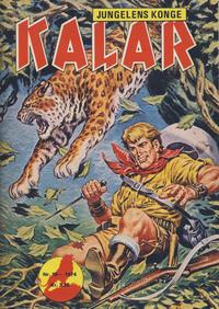 Cover Thumbnail for Kalar (Serieforlaget / Se-Bladene / Stabenfeldt, 1971 series) #10/1974