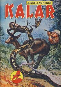 Cover Thumbnail for Kalar (Serieforlaget / Se-Bladene / Stabenfeldt, 1971 series) #1/1975