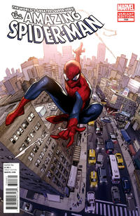 Cover Thumbnail for The Amazing Spider-Man (Marvel, 1999 series) #700 [Variant Edition - Olivier Coipel Cover]