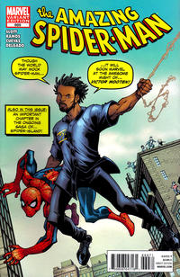 Cover Thumbnail for The Amazing Spider-Man (Marvel, 1999 series) #669 [You're Spider-Man: Victor Wooten Variant Cover by Todd Nauck]
