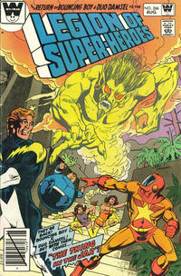 Cover Thumbnail for The Legion of Super-Heroes (DC, 1980 series) #266 [Whitman]